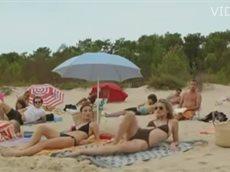Секс на пляже - просто улет!
